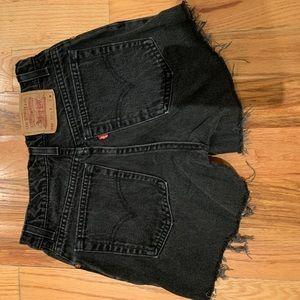 Vintage 550 Levi's shorts